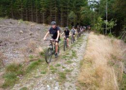 ATB tijdens een survivalkamp in de Ardennen