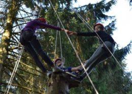 Tree of Trust tijdens een teambuilding in de Ardennen