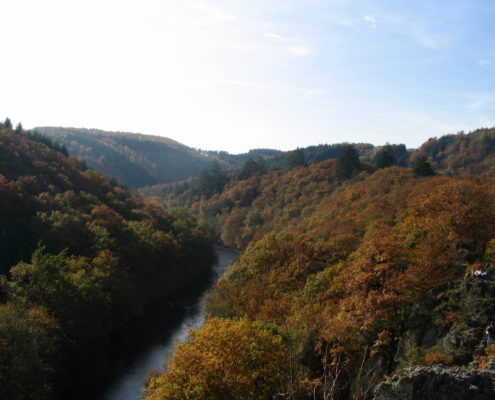 De prachtige Ardennen, een mooie setting voor een schoolkamp