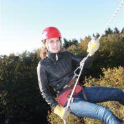 Populaire activiteit klimmen tijdens een uitje in Gelderland