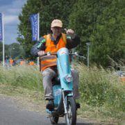 Elektrische scooter tijdens een bedrijfsuitje in Gelderland