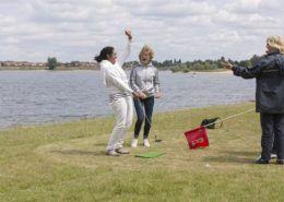 Beachgolf: een leuke activiteit tijdens een groepsuitje in Gelderland