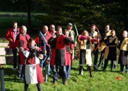 Middeleeuws teamkamp als bedrijfsuitje in Gelderland