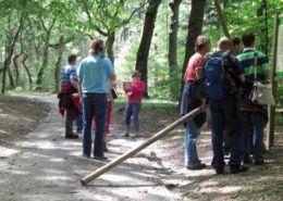 Groep mensen tijdens een hiking in Gelderland