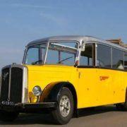 Historisch vervoer tijdens een personeelsuitje in Gelderland