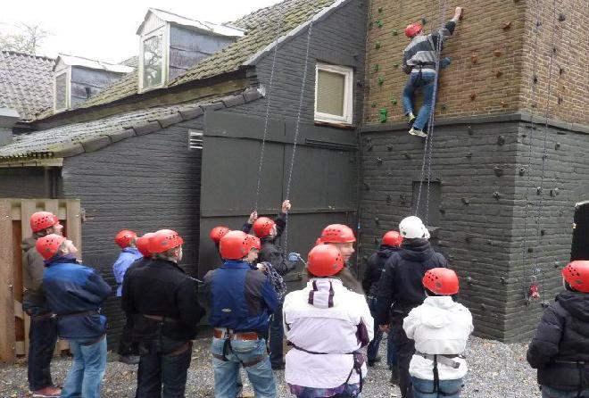 De populaire activiteit klimmen in Gelderland
